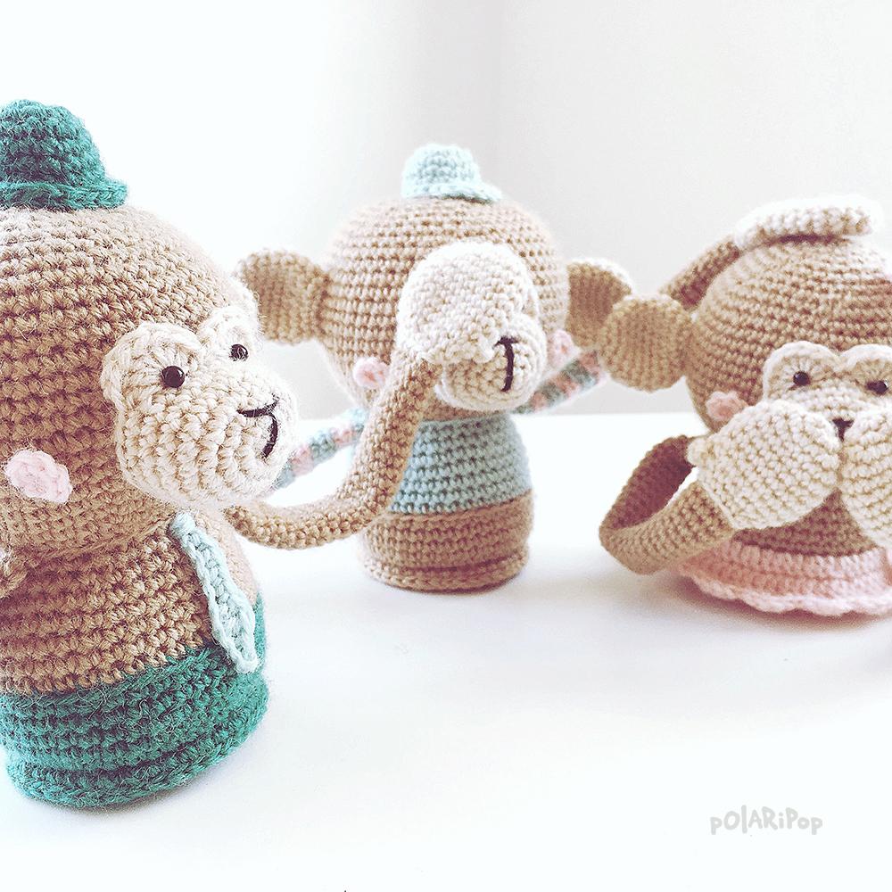 POLARIPOP Monkeymadness - Familie Blob 2