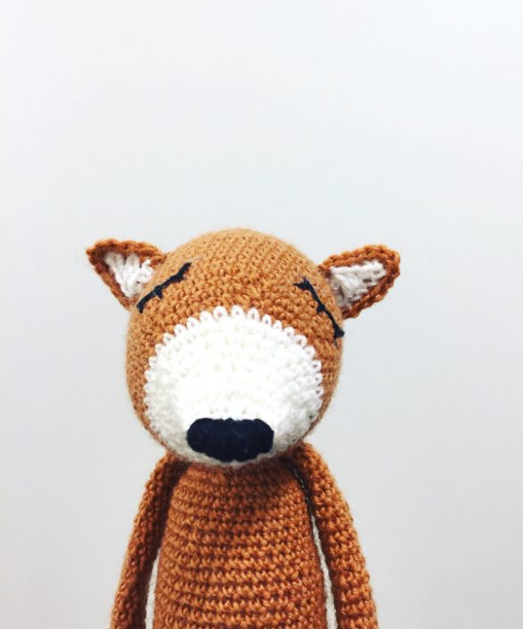 Rudy Refuse - crocheted by Juli Plamka after a pattern by Polaripop