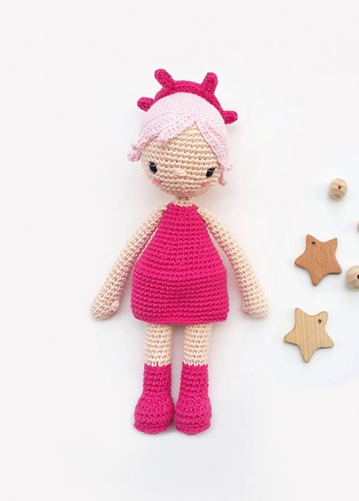 Estrella - crocheted by lulubal after a pattern by Polaripop