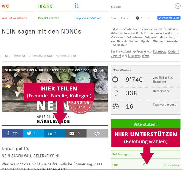NONOS Buch Crowdfunding - JETZT UNTERSTÜTZEN!