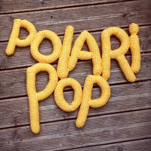 Polaripop Crocheted Logo