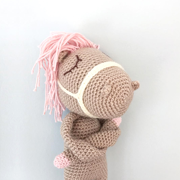 Willy Wont - crocheted by hanni.haekelt after a pattern by Polaripop