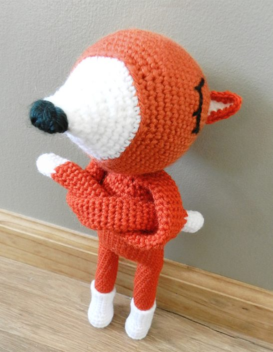Rudy Refuse - crocheted by monster.house.designs after a pattern by Polaripop