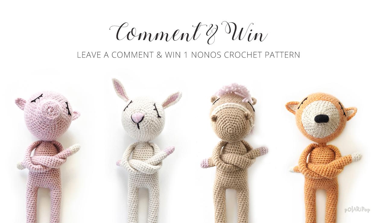 Win a NONOs crochet pattern - POLARIPOP