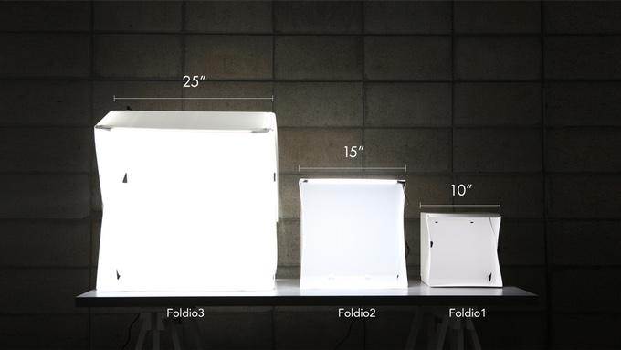 Foldio studio - 3 sizes