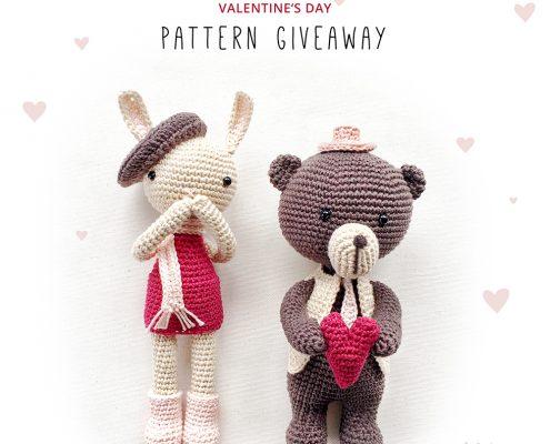 POLARIOP Bunny & Clyde Amigurumi Pattern Giveaway